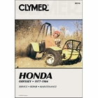 Honda Odyssey FL250 ATV Repair Manual 1977-1984