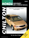 Honda Odyssey Repair Manual: 2001-2010