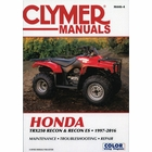 Honda TRX250 Recon, TRX250 Recon ES ATV Repair Manual 1997-2016