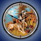 Hunting, Fishing, Wildlife Lighted Clocks