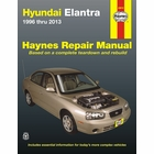 Hyundai Elantra Repair Manual 1996-2013