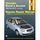 Hyundai Excel, Accent Repair Manual 1986-2013