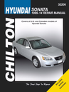 Hyundai Sonata Chilton Repair Manual 1999-2014