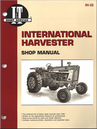 International Harvester Tractor Repair Manual 706, 756, 806, 856, 1206, 1256, more...