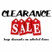 Inventory Clearance Sale