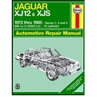 Jaguar XJ12, XJS, XJSC Cabriolet Repair Manual 1972-1985