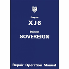 Jaguar XJ6 Daimler Sovereign Series 2 Workshop Manual
