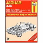Jaguar XJ6 Repair Manual 1968-1986