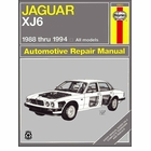 Jaguar XJ6, Vanden Plas, Sovereign Repair Manual 1988-1994