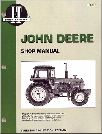 john deere 4450 wiring diagram john image wiring john deere tractor repair manual series 4050 4250 4450 4650 on john deere 4450 wiring diagram