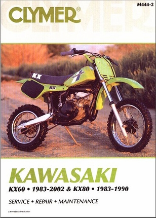 Kawasaki KX60 1983-2002, KX80 1983-1990 Repair Manual