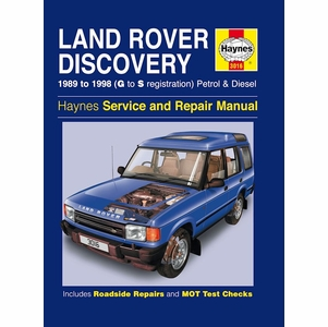Land Rover Discovery Repair Manual: 1989-1998