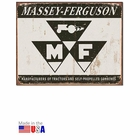 """Massey-Ferguson Tractors and Self-Propelled Combines"" Tin Sign"