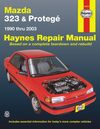 Mazda 323, Protege Repair Manual 1990-2003