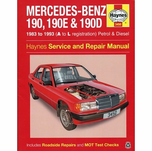 Mercedes-Benz 190, 190E, 190D Repair Manual: 1983-1993