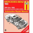 Mercedes-Benz 190 Repair Manual 1984-1988