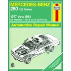 Mercedes-Benz 280 E, 280 CE Repair Manual 1977-1981