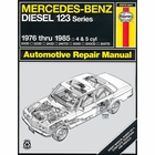 Mercedes-Benz Diesel 123 Series Repair Manual 1976-1985