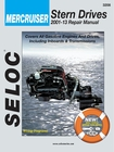 Mercruiser Stern Drive Repair Manual 2001-2013