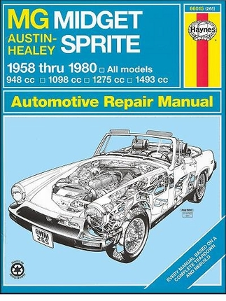 Mg Midget Repair 79