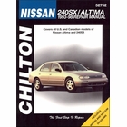 Nissan 240SX, Altima Repair Manual 1993-1998