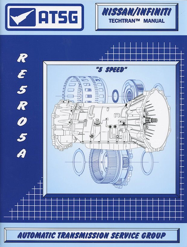 Nissan / Infiniti RE5R05A Transmission Repair Manual: 2002-2016