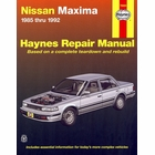 Nissan Maxima Haynes Repair Manual 1985-1992