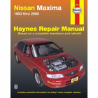 Nissan Maxima Haynes Repair Manual 1993-2008
