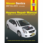 Nissan Sentra Repair Manual: 2007-2012