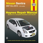 Nissan Sentra Repair Manual 2007-2012