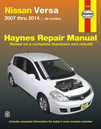 Nissan Versa Repair Manual: 2007-2014
