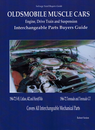 Oldsmobile Interchangeable Parts Manual