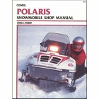 Polaris Snowmobile Repair Manual 1984-1989
