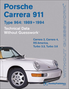 Porsche 911 Carrera (Type 964) Technical Data Guide: 1989-1994