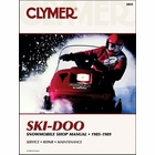 Ski-Doo Snowmobile Repair Manual 1985-1989
