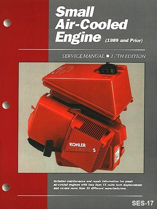 Small Air-Cooled Engine 1989 and Prior Service Manual