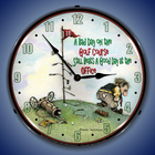 Sports Theme Wall Clocks, Lighted: Baseball, Golf, more...