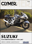 Suzuki GSX1300R Hayabusa Repair Manual 1999-2007