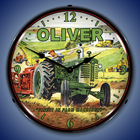 Vintage Farm Tractor Wall Clocks, Lighted: Oliver, Farmall, I&H
