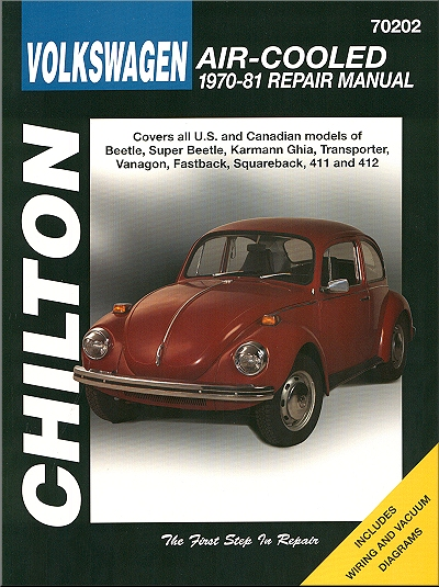 Volkswagen Air-Cooled Repair Manual 1970-1981
