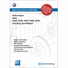 Volkswagen Jetta 2005-2009 Repair Manual on DVD, including SportWagen