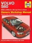 Volvo S60, X to 09 Reg, Gasoline and Diesel Repair Manual 2000-2009