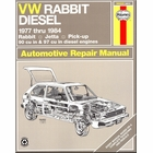 VW Diesel Rabbit, Jetta, Pickup Repair Manual 1977-1984