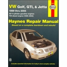 VW Golf, GTI, Jetta Repair Manual 1999-2005