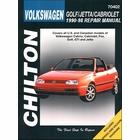VW Golf, Jetta, Cabriolet Repair Manual 1990-1998