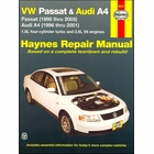 VW Passat 1998-2005, Audi A4 1996-2001 Repair Manual