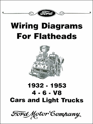 19321953 Licensed Ford    Wiring    Diagrams for    Flathead    Engines