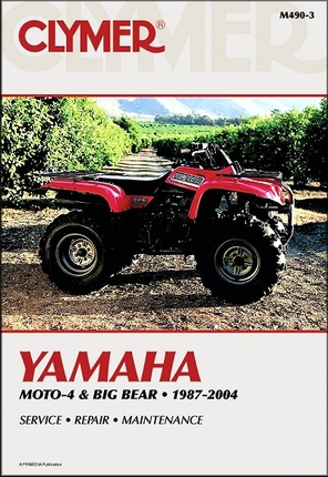 Yamaha Moto-4, Big Bear ATV Repair Manual 1987-2004