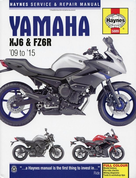 Yamaha XJ6 & FZ6R Repair Manual: 2009-2015