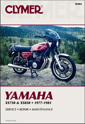 Yamaha XS750 1977-1979, XS850 1980-1981 Repair Manual